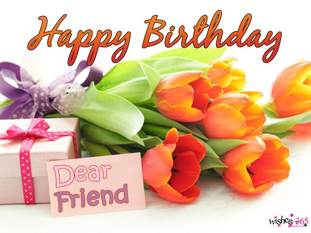 Poetry And Worldwide Wishes Happy Birthday For Best Friend With Flowers Digital Cards