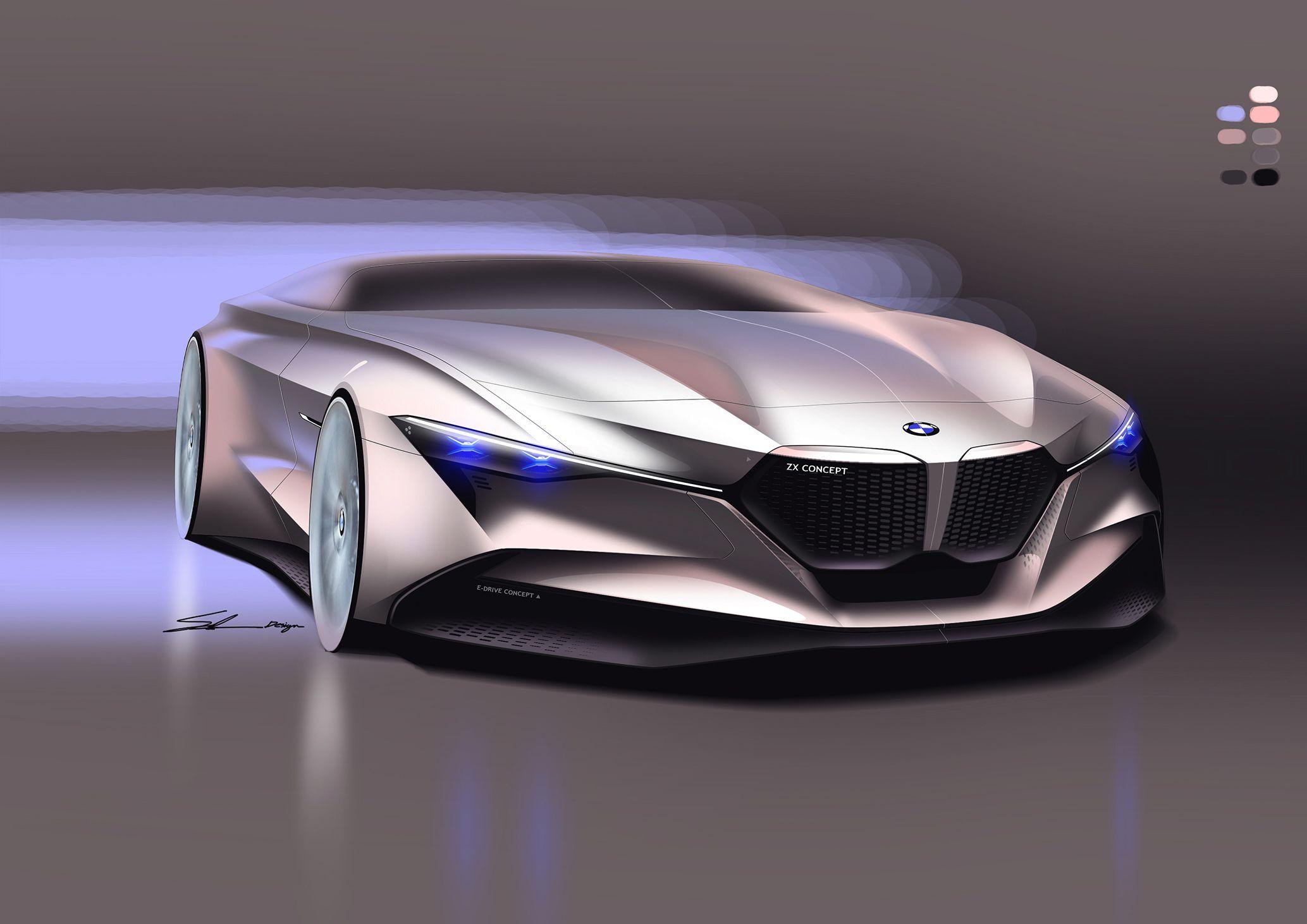 Free Sketches Bmw Concept Car Bmw Concept Concept Cars