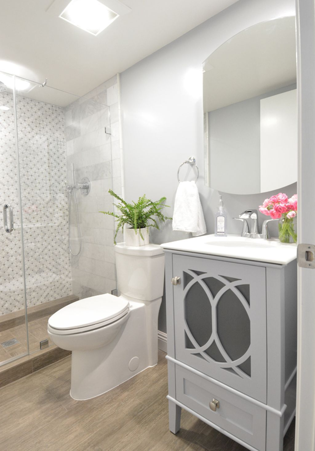 Cool small master bathroom remodel ideas (9 | Master bathrooms ...