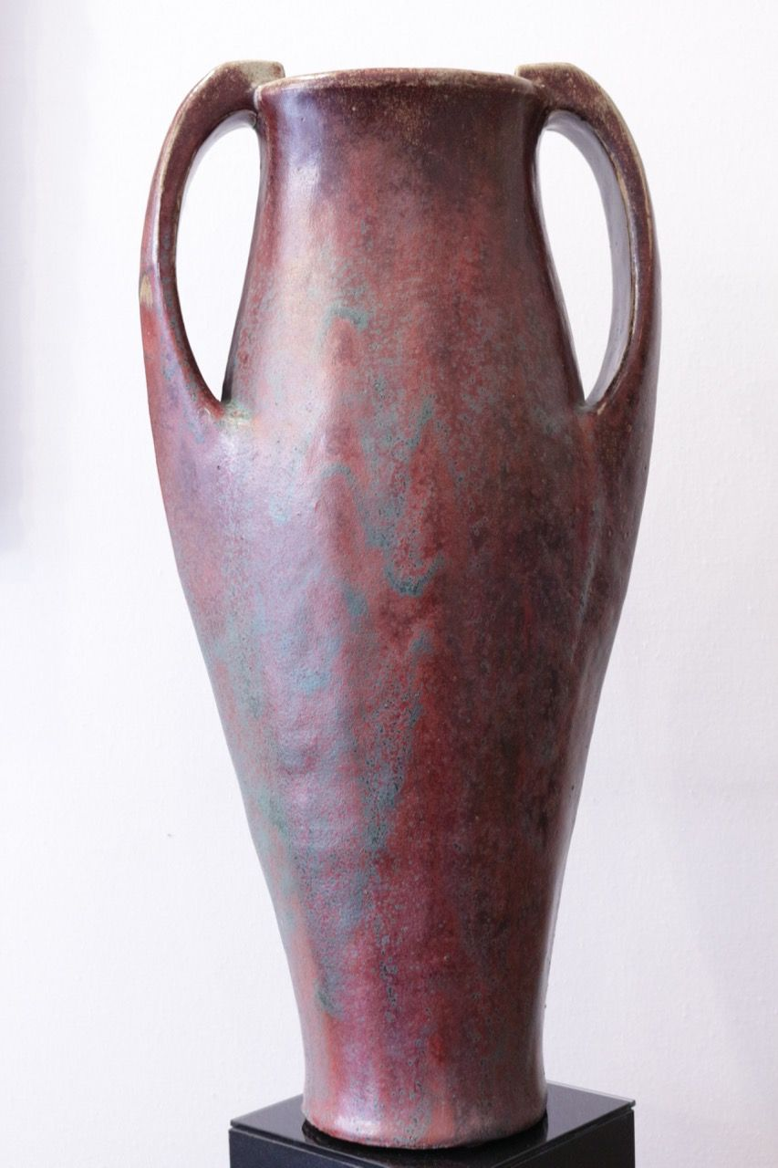 "Emile Decoeur (1876-1953), amphora, ca. 1907.  Height 54.3 cm. Shown on page 63 in Michel Giraud and Fabienne Fravalo, ""Emile Decoeur 1876-1953"" (Galerie Michel Giraud, Paris, 2008)."