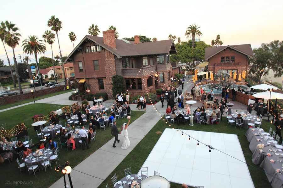 The Patio At Claire S Museum Located In Long Beach Of Art