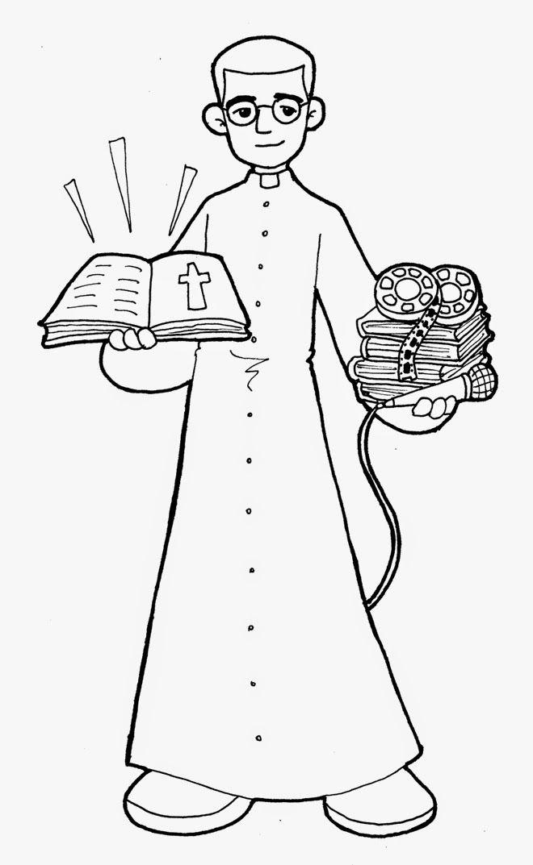 Dibujos Para Catequesis Beato Timoteo Giaccardo Biblia Para Ninos Catequesis Dia De Todos Los Santos