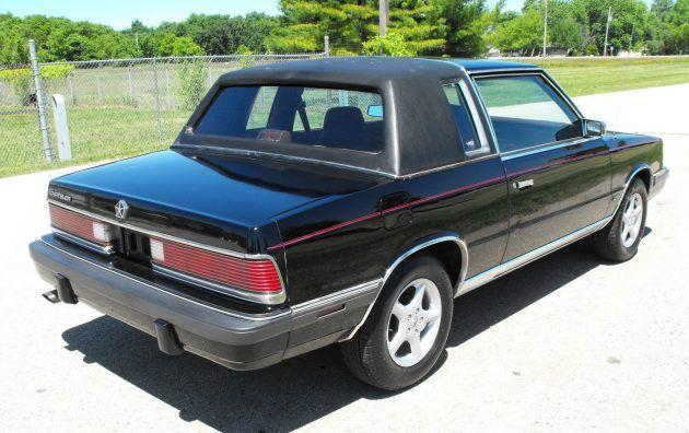 Turbo Coupe 1986 Chrysler Lebaron Chrysler Lebaron Chrysler