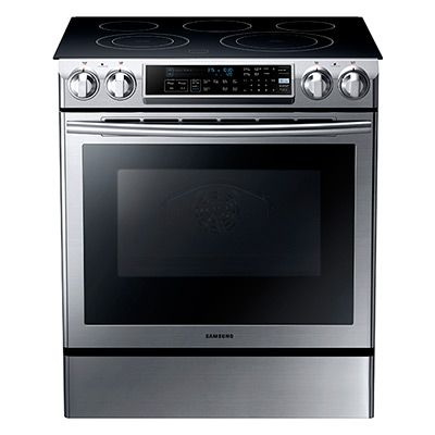 5 8 Cu Ft Slide In Electric Range With Dual Convection In