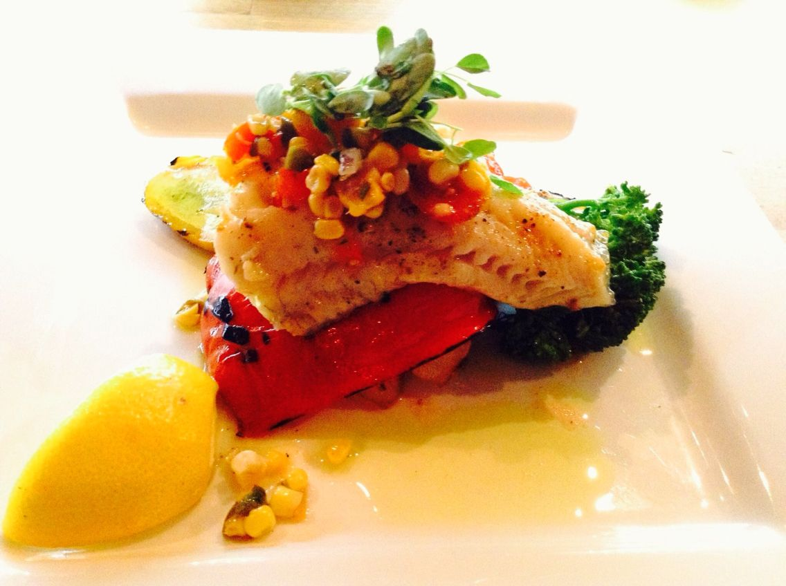 Watch Fish Fillets with Saffron, Tomatoes and Corn video