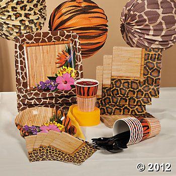 Paradise Safari Basic Party Pack.