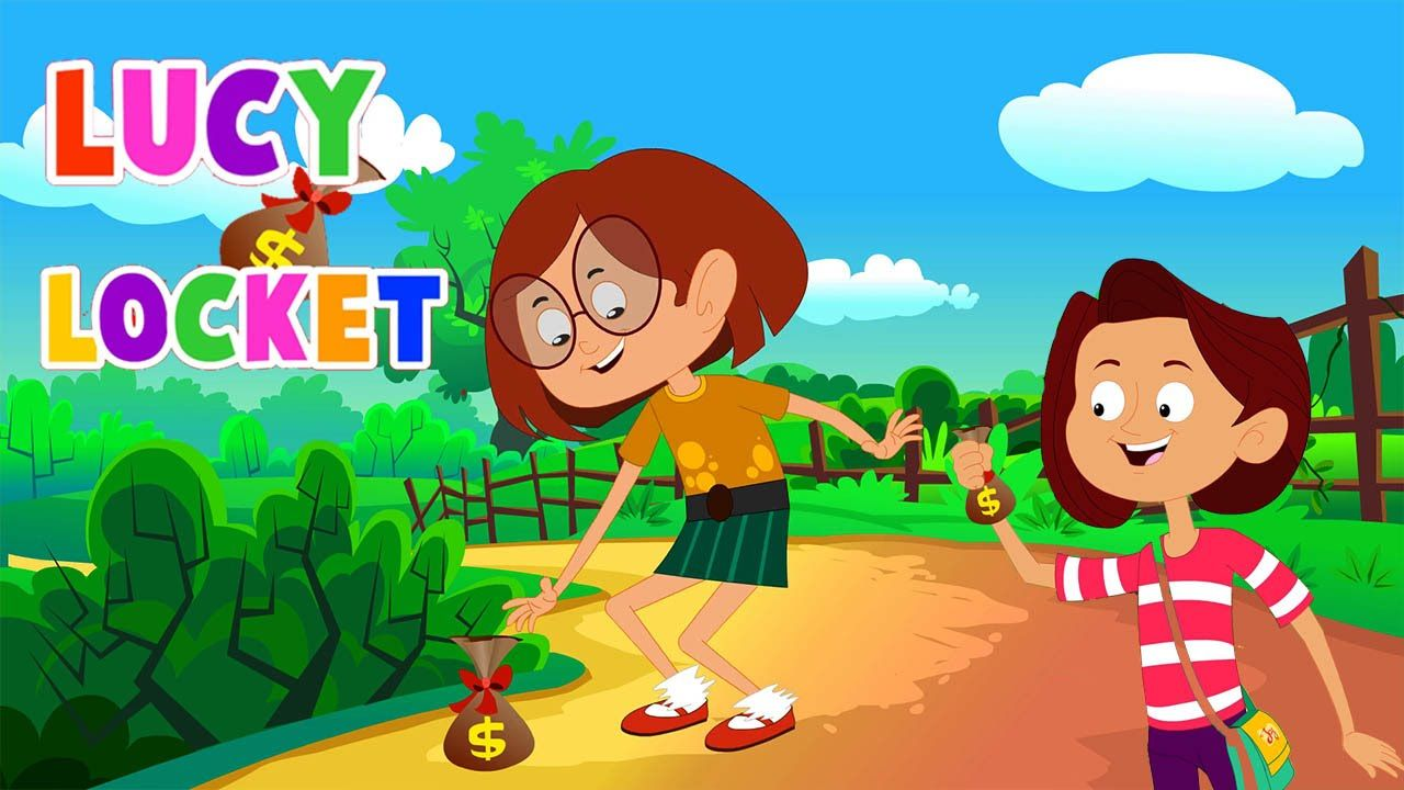 Lucy Locket Lost Her Pocket English Nursery Rhymes With Lyrics Nursery Rhymes Lyrics Nursery Rhymes Nursery Rhymes Preschool