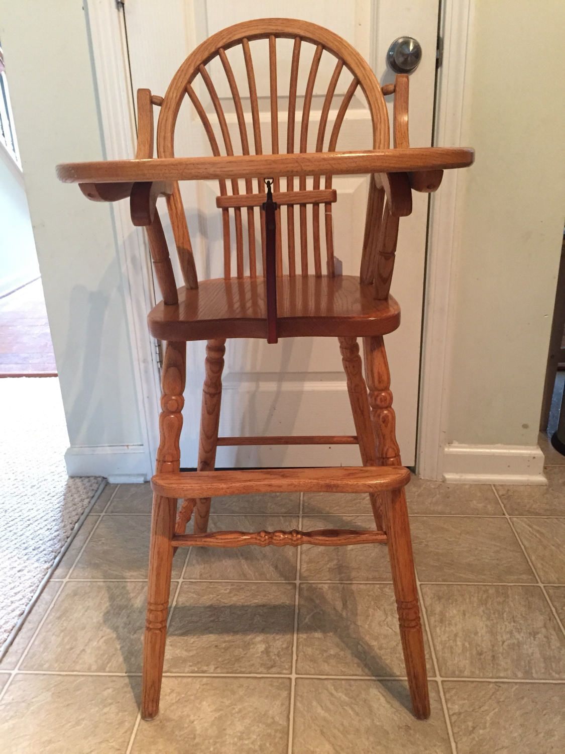 Reduced Price, Vintage Wooden High Chair, Jenny Lind, Antique High Chair,  Vintage - Reduced Price, Vintage Wooden High Chair, Jenny Lind, Antique High