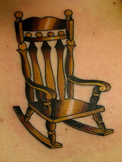 Rocking Chair Old Rocking Chairs Chair Drawing Tiny Tattoos