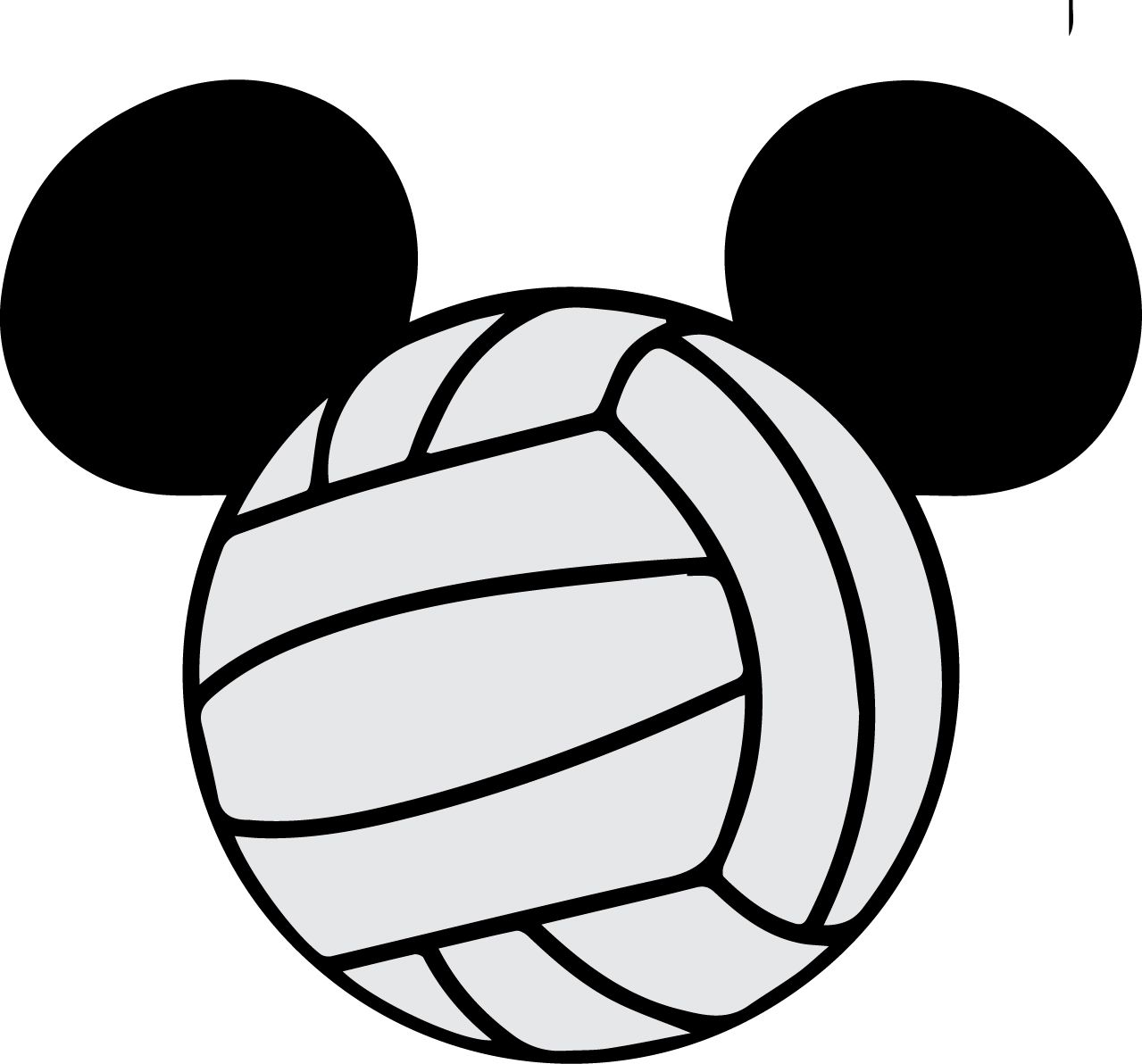 Mickey Head Volleyball Visit Svgcoopcom To Download This Svg Circuit Board Tshirt Zazzle For Free