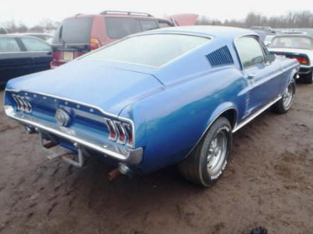 1967 Ford Mustang Fastback Flood Damage With Images Mustang