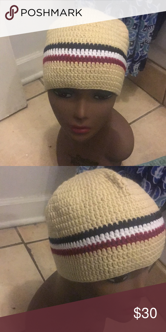 4f0947bf9 Hats Handmade crocheted hat made by me!NEW for men or women ...