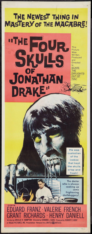 The Four Skulls of Jonathan Drake (1959) Stars Eduard