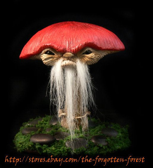 bearded mushroom by arcaneart
