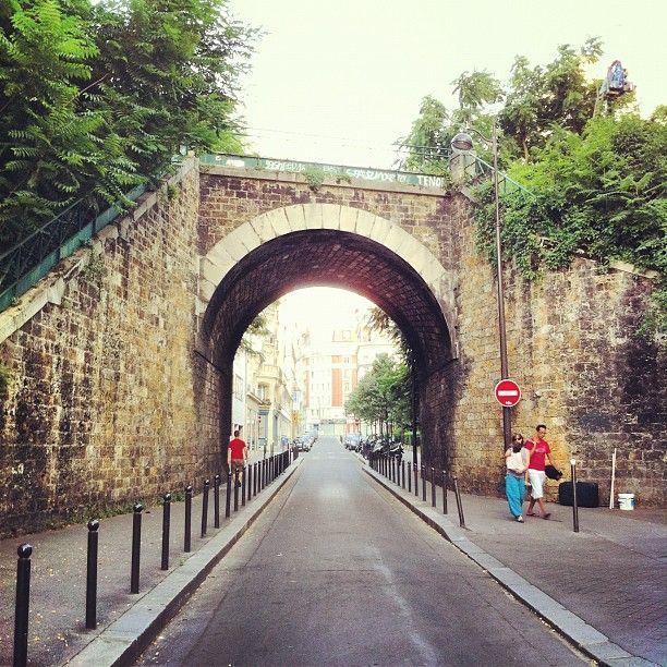 Pont urbain.
