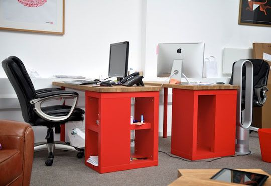 How To Build A Better Ikea Desk Apartment Therapy