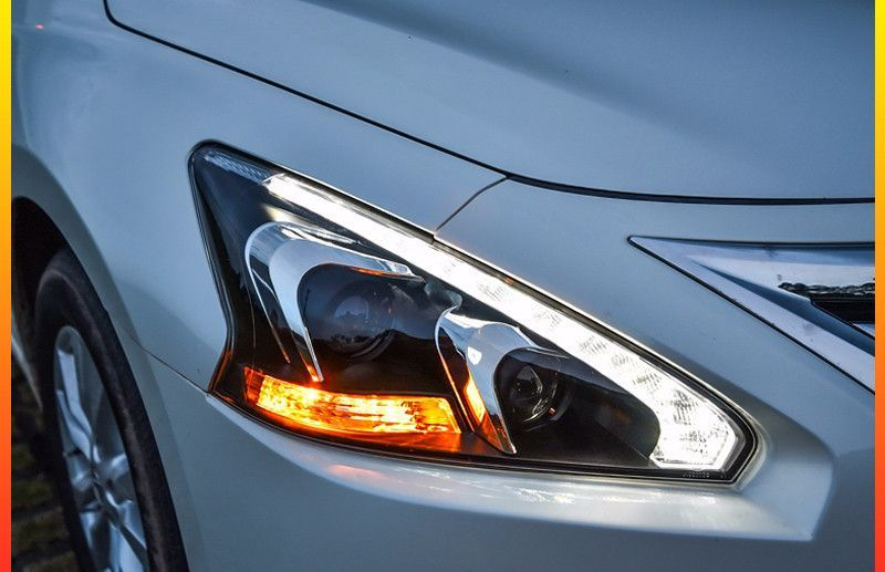 Compatibility Features Specifications Demo Video Gallery Faq Reviews Pair Quad Projector Bi Xenon Headlights With Led Daytime Running Lights Drl