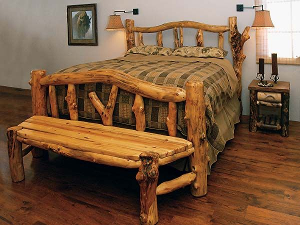 Other Beds | Colorado Log Furniture | Log Cabins & Log ...