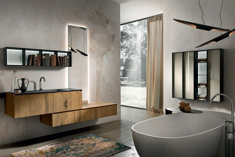 Holz Badezimmermöbel ~ Badmöbel aus holz u die zeitlos elegante badgestaltung chrono