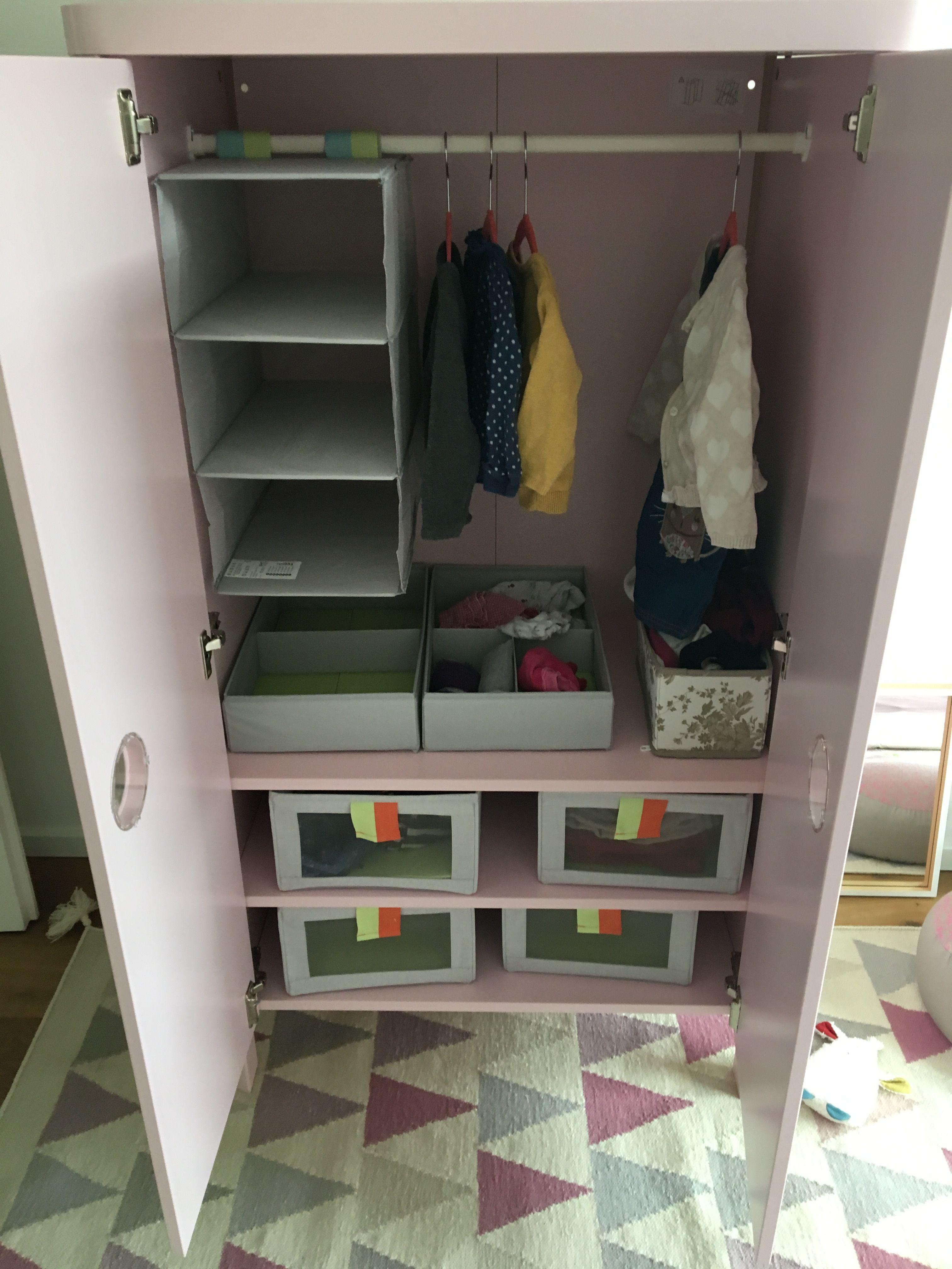 Ikea Busunge Kleiderschrank Organisieren Mit Organizern Von Ikea
