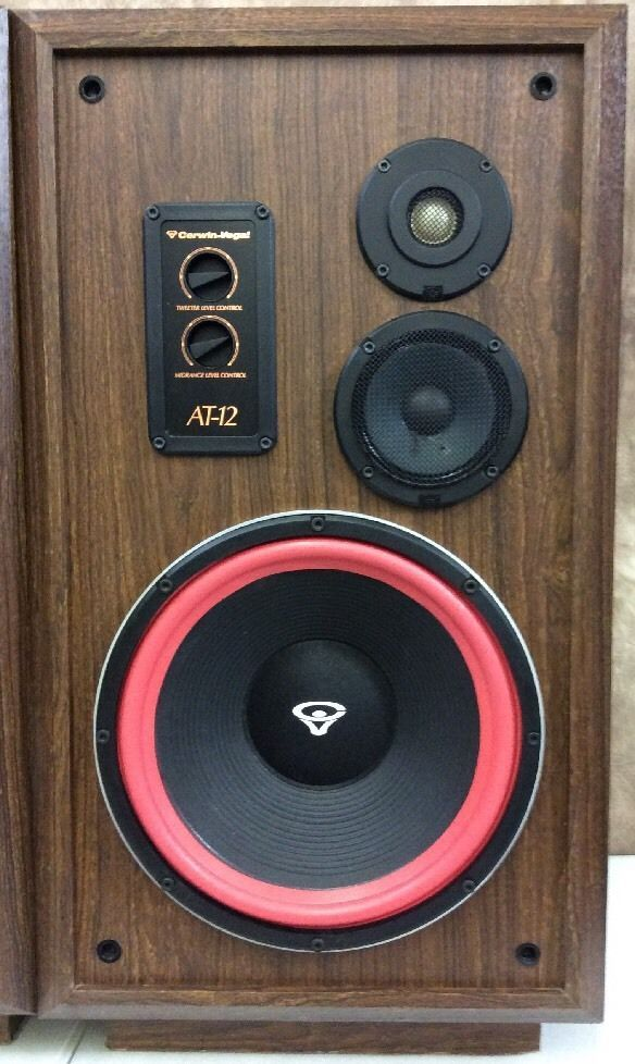 These Speakers Are Amazing This Speakers Were Recently Reconditioned Lf Driver 12 Cast Frame Level Controls Hf X Floor Speakers Vintage Speakers Speaker