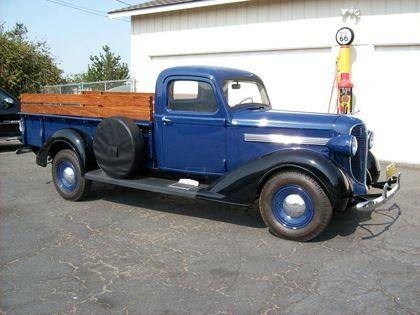 classic trucks for sale 1938 dodge 3 4 ton pickup truck for sale. Black Bedroom Furniture Sets. Home Design Ideas