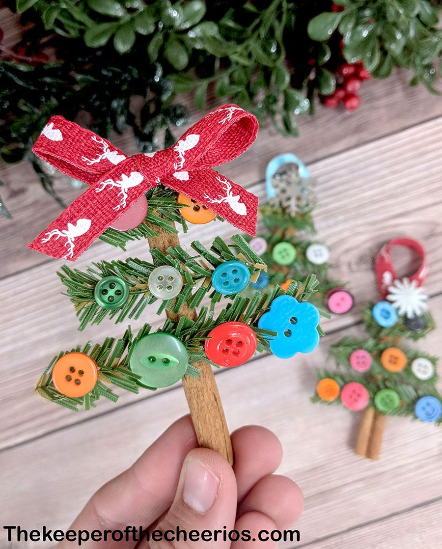 Cinnamon Stick Christmas Tree Ornaments The Keeper Of The Cheerios In 2020 Stick Christmas Tree Cinnamon Sticks Christmas Christmas Tree Ornaments