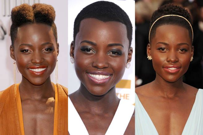 The Many Hairstyles Of Lupita Nyong O Natural Hair Rules Natural Hair Styles Quick Natural Hair Styles