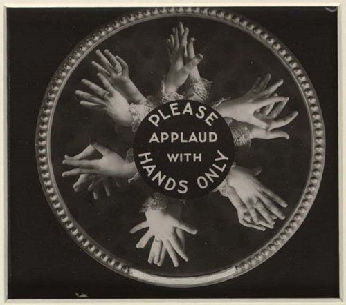 "1910's-era movie theater etiquette Public Service Announcements. Most early movie theaters had only one projector so ""etiquette slides"" were used to divert the audience while reels were being changed."