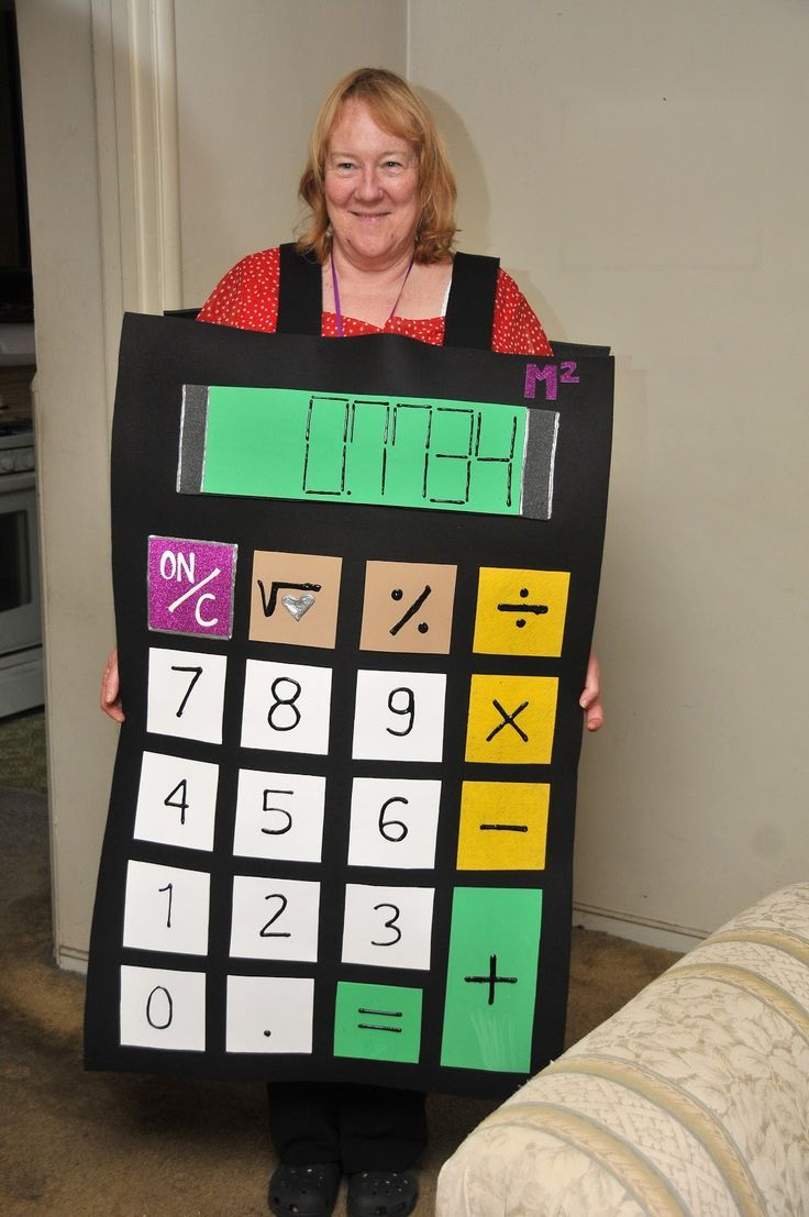 Uncategorized Kid Calculator how to make a calculator costume costumes check out some fun accounting we put together that you can wear this halloween