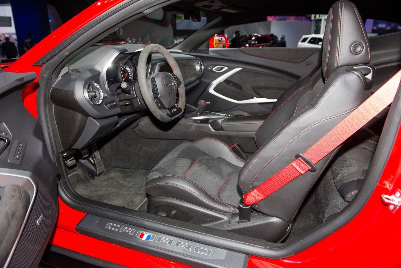 2017 Chevrolet Camaro Zl1 Coupe Interior 2016 New York