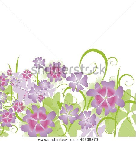spring view - stock photo