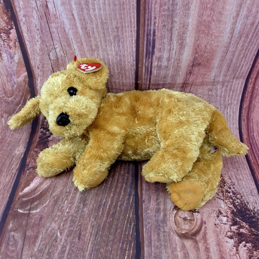 Ty Beanie Classic Dog Puppy Skippy Soft Plush Toy Teddy