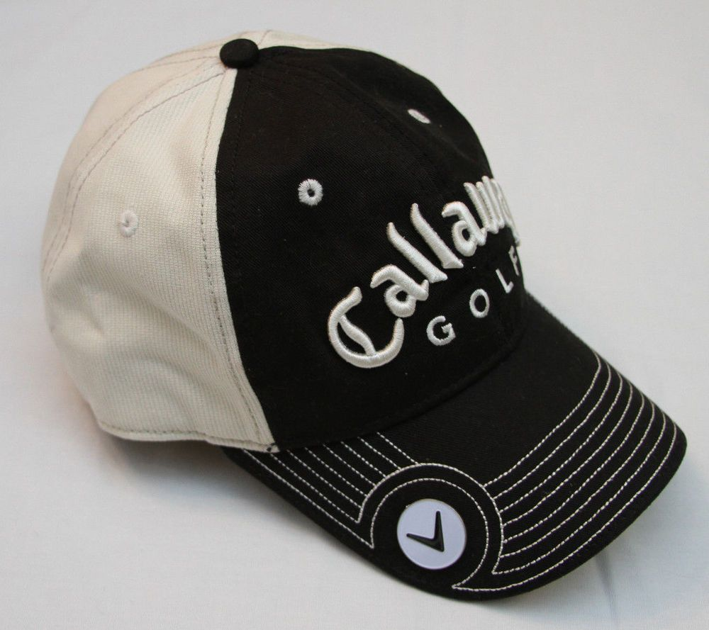 Callaway Golf Cap With Magnetic Ball Marker New Era One-Size-Fits-All   Callaway  BaseballCap 1c00b12833d