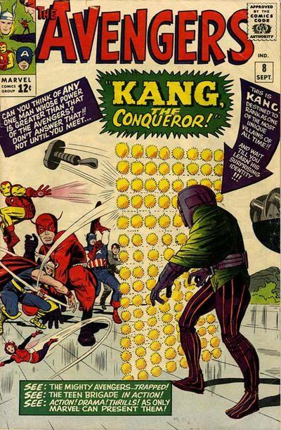 Cover for The Avengers (Marvel, 1963 series) #8