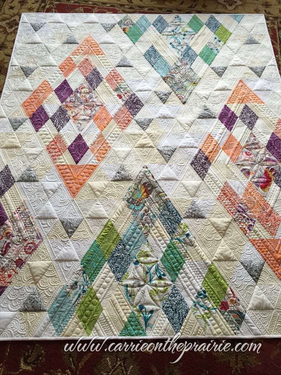 Carrie Rhoades Behlke On The Prairie Lenni Longarm Quilting Machine