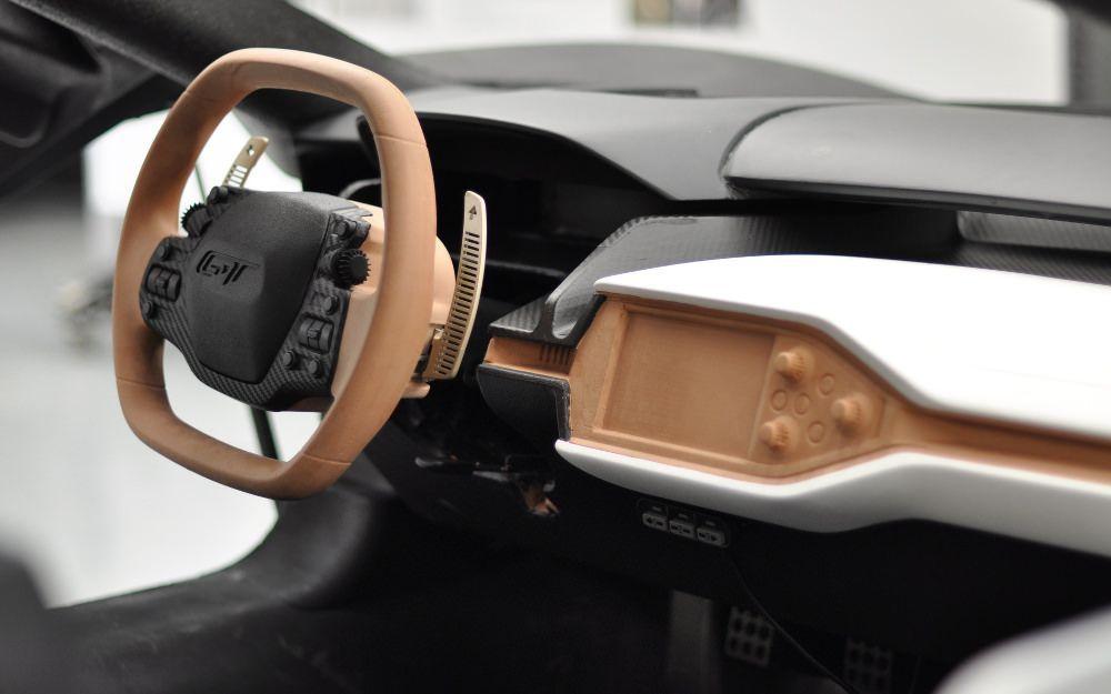 Ford Gt  Du Designer A La Supercar