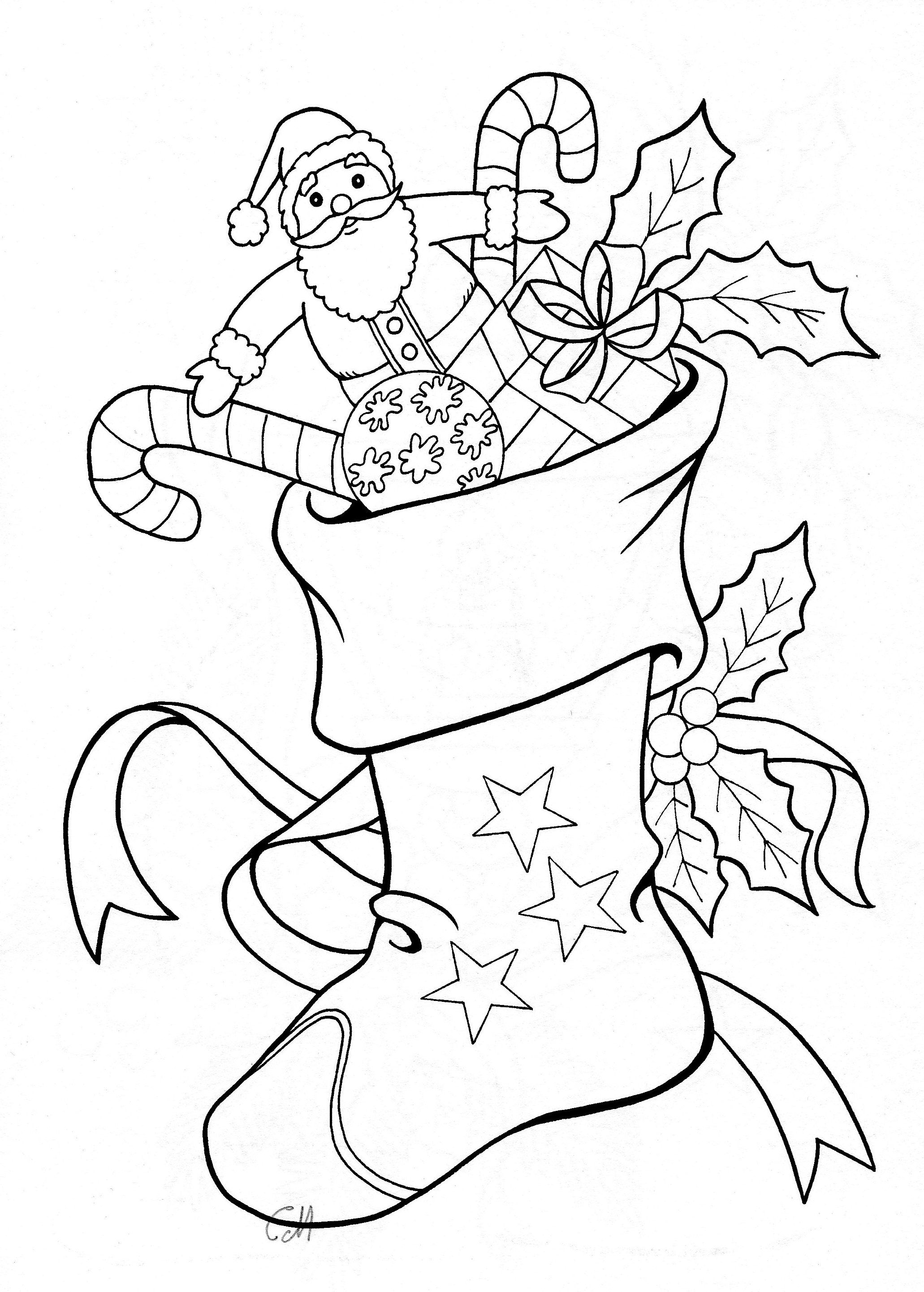 Christmas Embroidery patterns Christmas coloring sheets