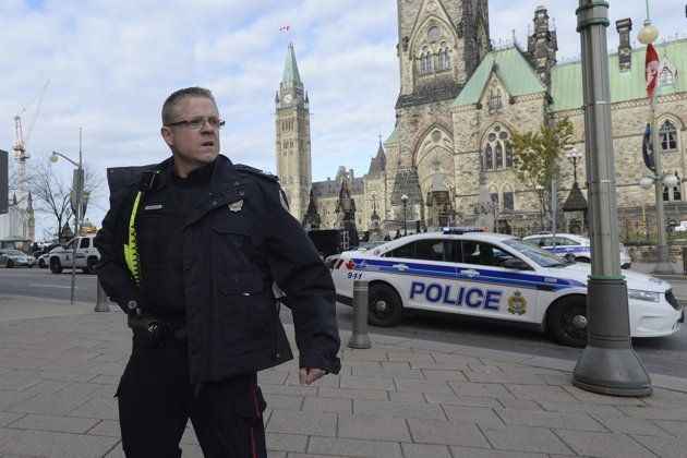Parliament Hill Shooting Soldier Killed One Gunman Dead Both