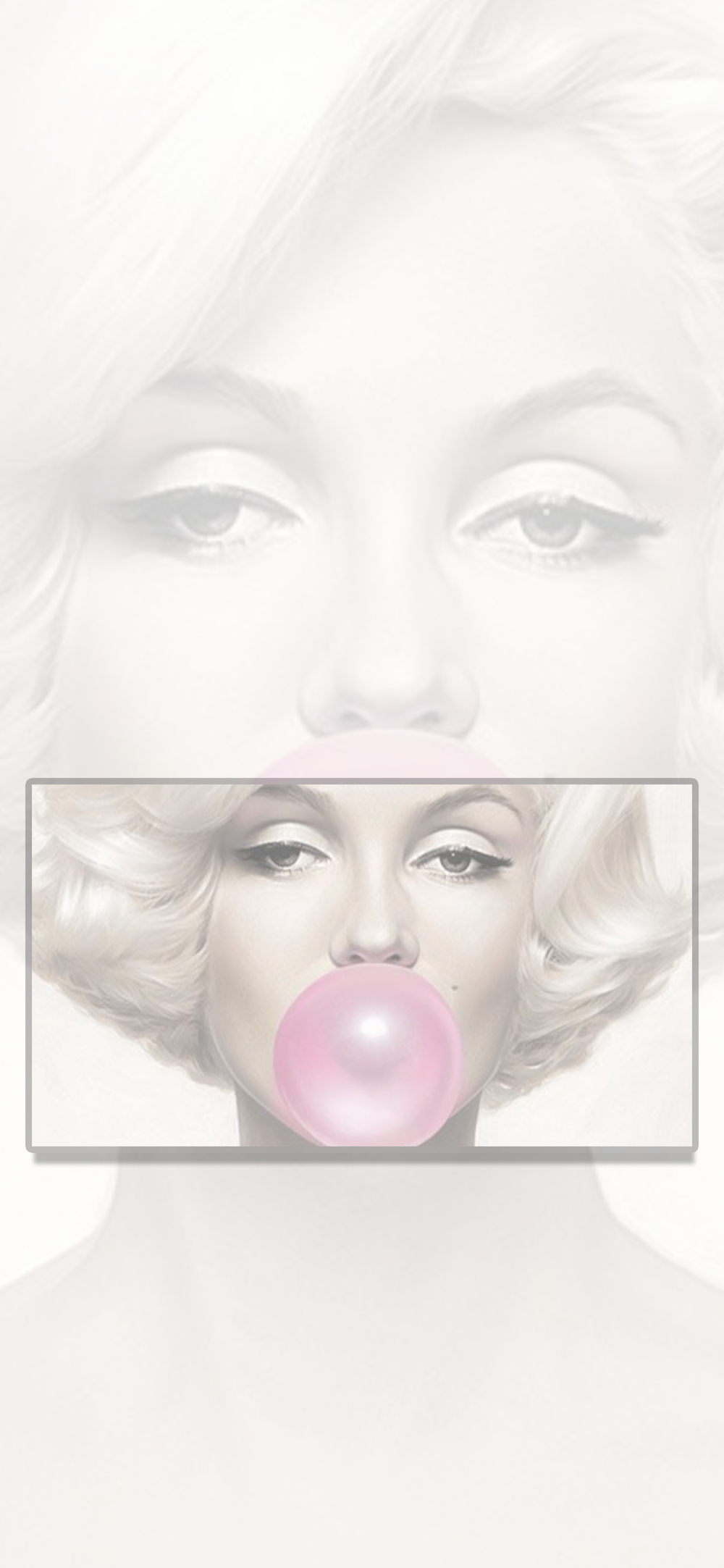 Wallpaper, background, iPhone, Android, HD, white, Marilyn
