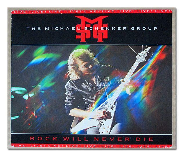 Msg Michael Schenker Group Rock Will Never Die 12 Lp Vinyl Greatest Album Covers Rock Vinyl Music