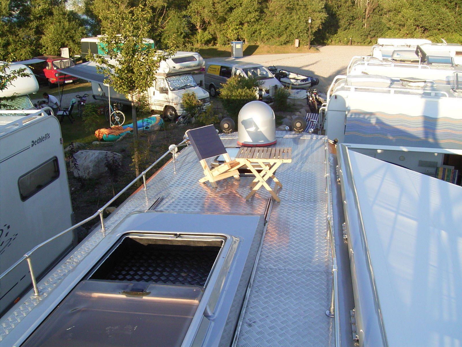 Wohnmobil mit Cabrioverdeck + Garage im Heck in in Hamburg ...