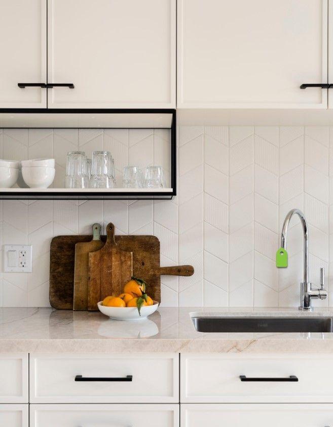 Idée crédence cuisine + style meubles