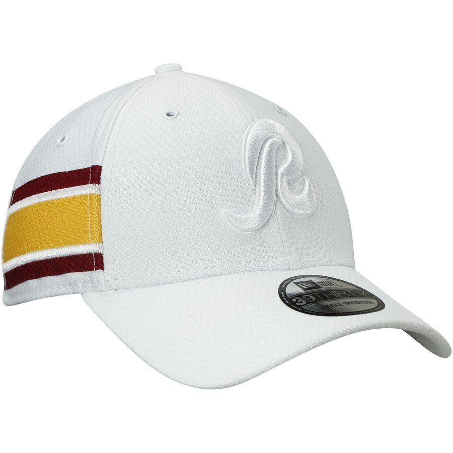 newest 0dbec 51818 Men s Washington Redskins New Era White Alternate Logo Kickoff 39THIRTY  Flex Hat, Your Price   31.99