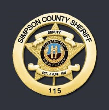 Simpson County Sheriff Ky Le Badges Pinterest Police