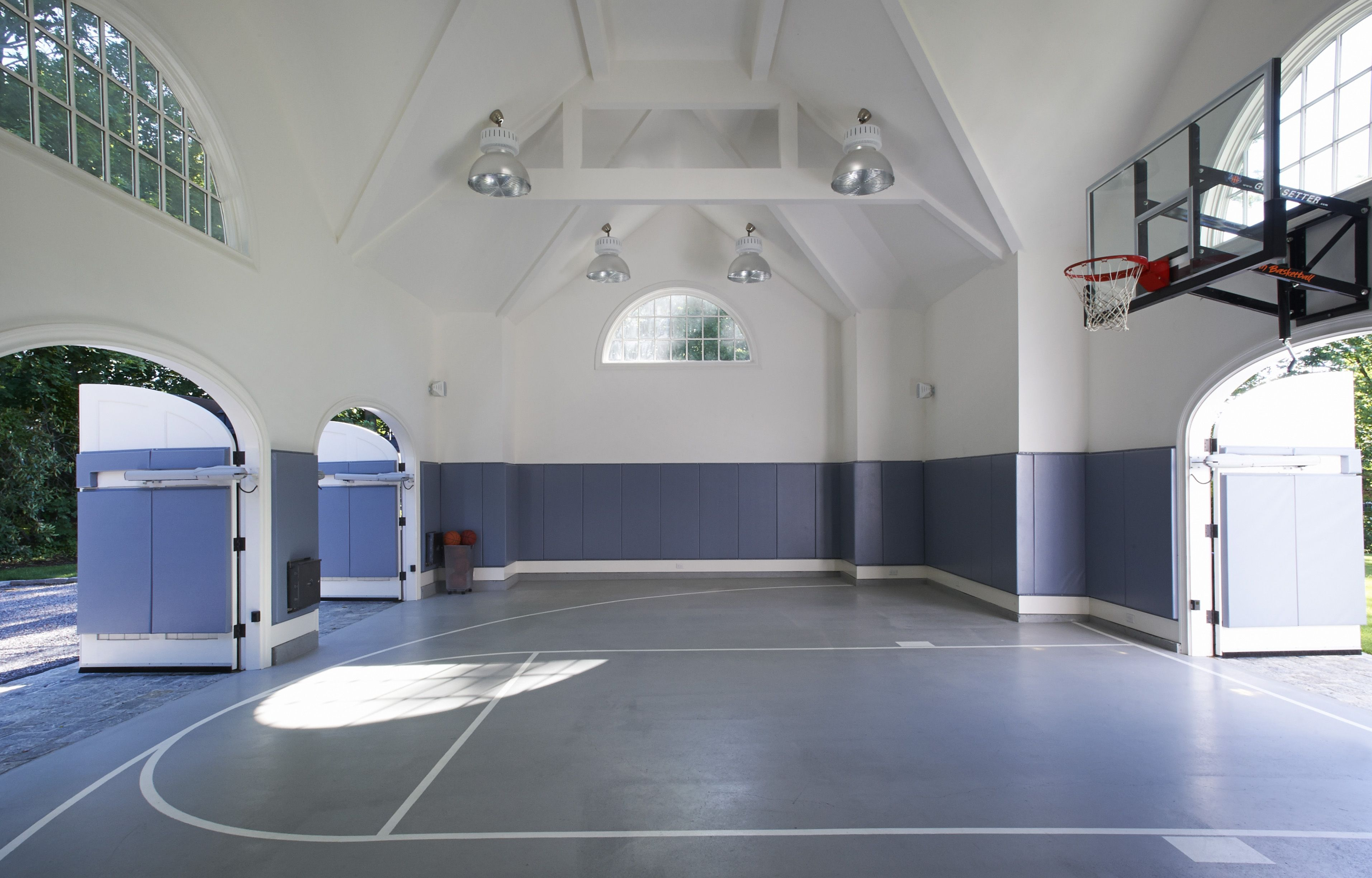 rec room design with basketball court - Google Search | Remodelholic ...