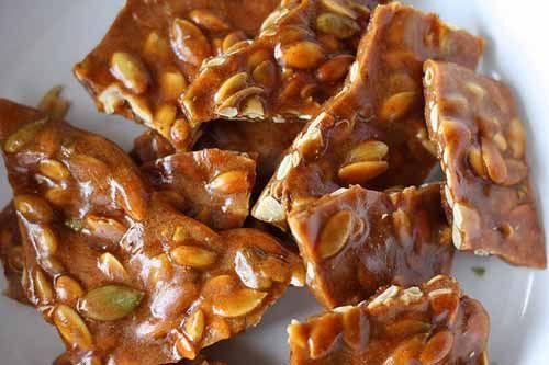 Spiced #Pumpkin Seed Brittle