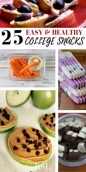 25 Healthy College Snacks That Won't Make You Feel Guilty images