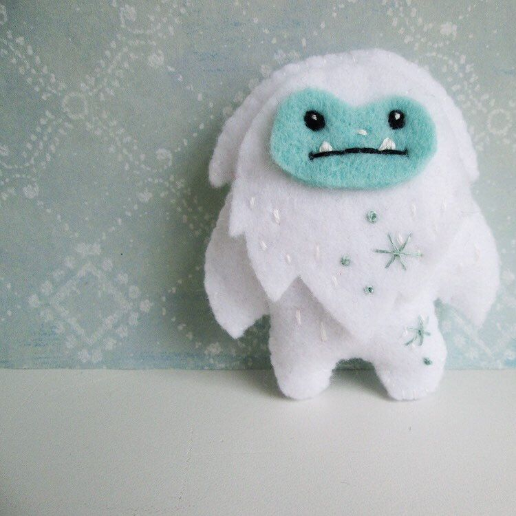 Fight off winter blues by stitching up a cute yeti (and his pal ...