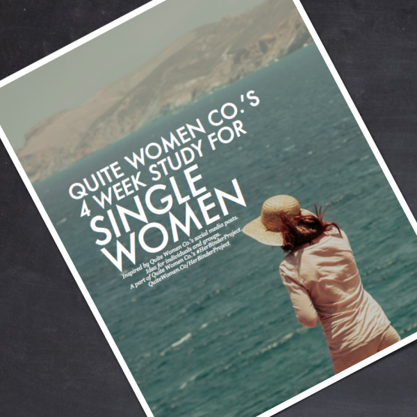 4 Week Study and Worksheets for Christian Women